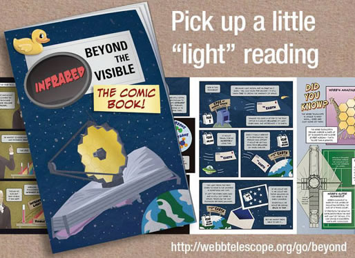 beyond the visible comic book